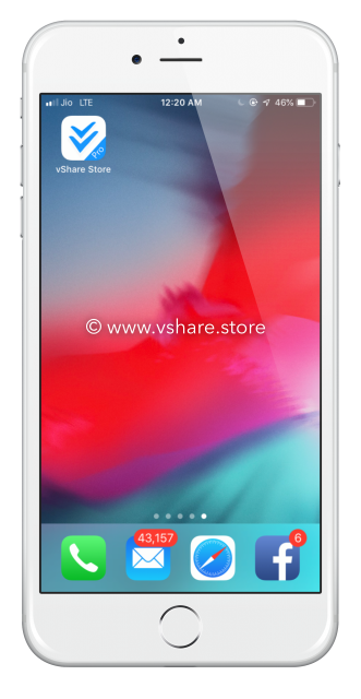 vShare iOS 12 - iOS 12 4 3 Download